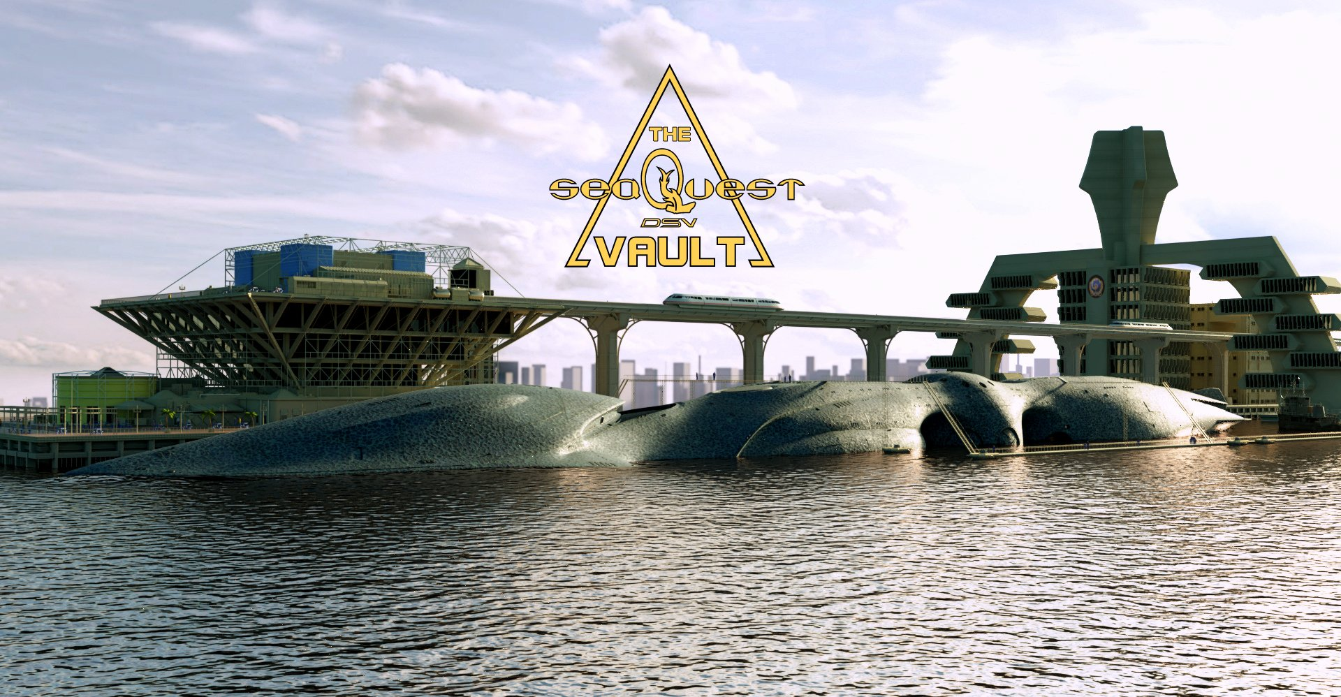 The seaQuest DSV Vault
